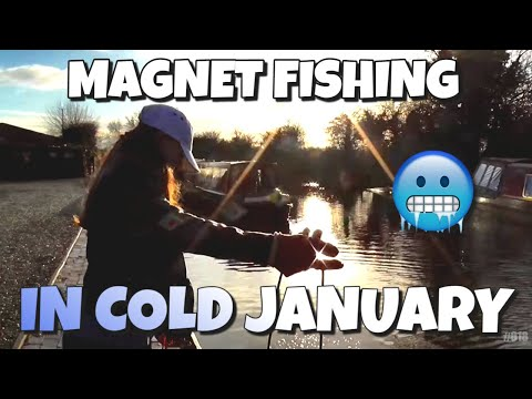 Magnet Fishing #017 A Cold Day in January.