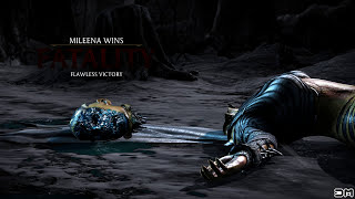Mortal Kombat X Mileena Face Feast Fatality on All Characters