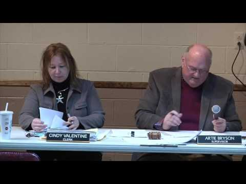 Clay Township Board of Trustees Meeting May 16, 2016