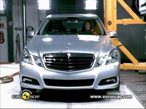 Euro NCAP | Mercedes Benz E Class | 2010 | Crash test