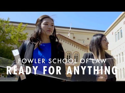 Fowler School of Law: Ready for Anything