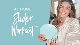 At-Home Slider Workout | Legs, Booty, & Abs!