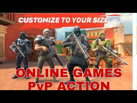 ONLINE GAMES - GUNS AND BOOM PvP ACTION