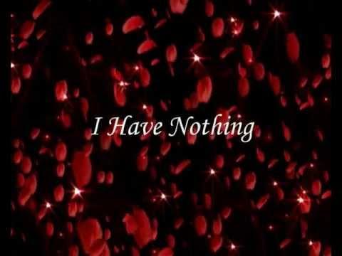 Whitney Houston - I Have Nothing - Non ho nulla - Traduzione italiano