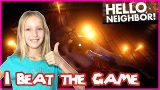 I Beat The Game / Hello Neighbor