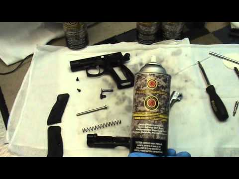 CZ 75 Compact Cleaning Tutorial