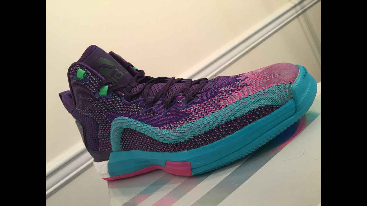5df88246f0fb adidas J Wall 2 Primeknit Boost Unboxing   Review - YouTube