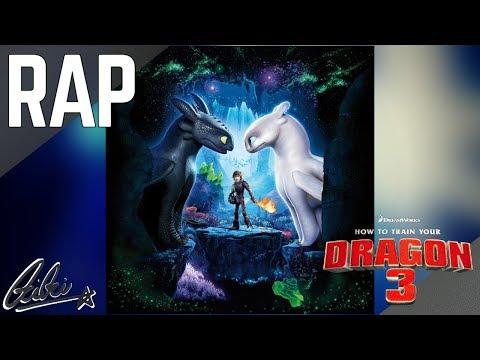 Rap De Como Entrenar A Tu Dragón 3 EN ESPAÑOL (DREAMWORKS) || Frikirap || CriCri :D