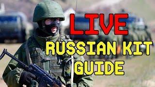 LIVE! Airsoft Beginner Russian Kit | Milsim West Gear Prep