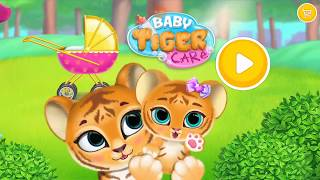 Children Play Care Animals Care Game - Baby Tiger Care - My Cute Virtual Pet Friend