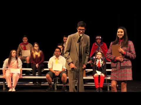 The 25th Annual Putnam County Spelling Bee: Spelling Rules