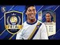 FIFA 18 F8TAL ICON RONALDINHO! #5 - THE CRAZIEST GAME! 😱