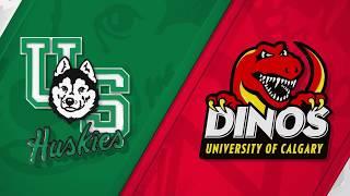 WHKY Highlights | Dinos vs. Saskatchewan, Oct. 13, 2018