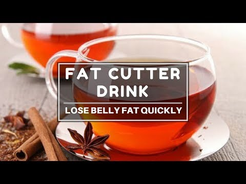 Fat Cutter Drink | Lose Belly Fat fast | DIY Weight Loss Drink | Eat more Lose more