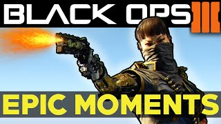 BLACK OPS 3: Epic Moments EP.4 (Black Ops 3 Funny Moments + Fails Call of Duty BO3 III Montage)