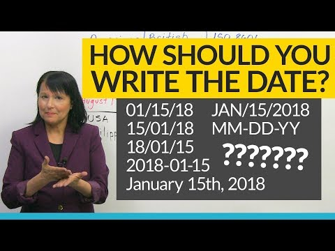 How To Read And Write The Date, And How NOT To!