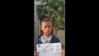 LiveLeak - DAD GIVES his SONS an   OLD MAN HAIRCUT   = for bad grades =