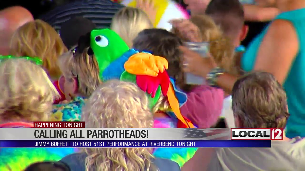 Parrotheads tailgate ahead of Jimmy Buffett concert at Riverbend by LOCAL 12