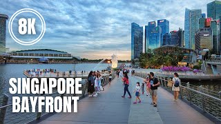 Singapore City Tour in 8K (March 2021)