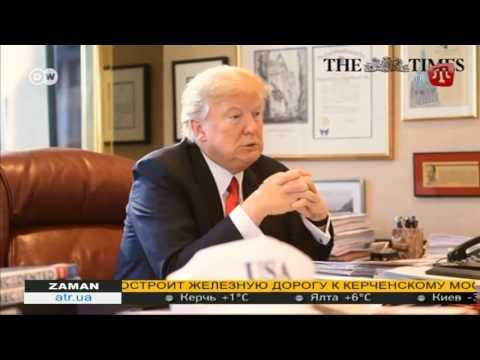 Новый президент Америки Дональд Трамп раскритиковал политику Ангелы Меркель