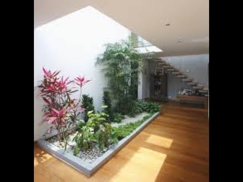 Dekorasi Taman Indoor Mungil Di Dalam Rumah - YouTube