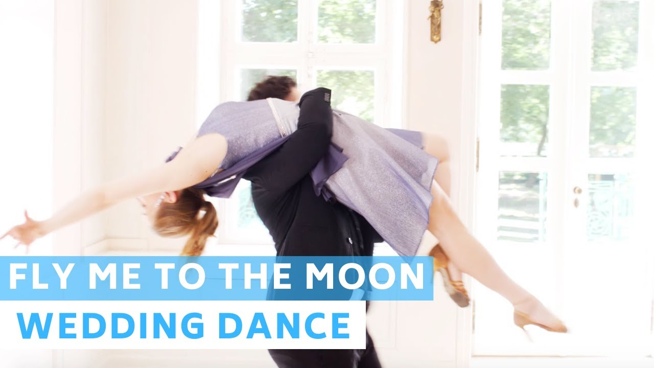 Fly Me to the Moon - Frank Sinatra | Foxtrot | Wedding Dance Choreography | Romantic First Dance