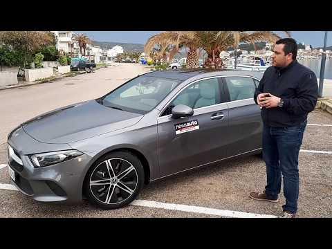 To Newsauto οδηγεί τη νέα Mercedes A Class