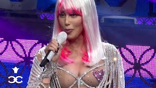 Repeat youtube video Cher - Believe (Live footage from the 2014 Dressed to Kill Tour)