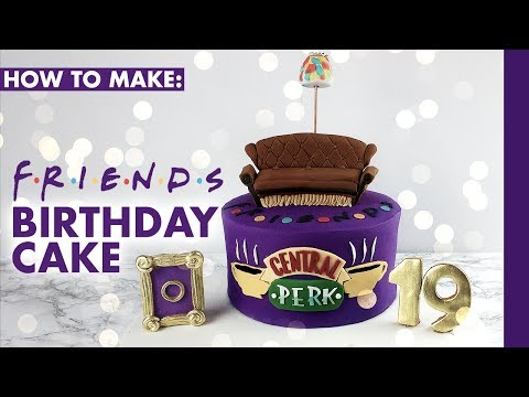 HOW TO MAKE: F.R.I.E.N.D.S TV SHOW CAKE | CAKES BY KASIB