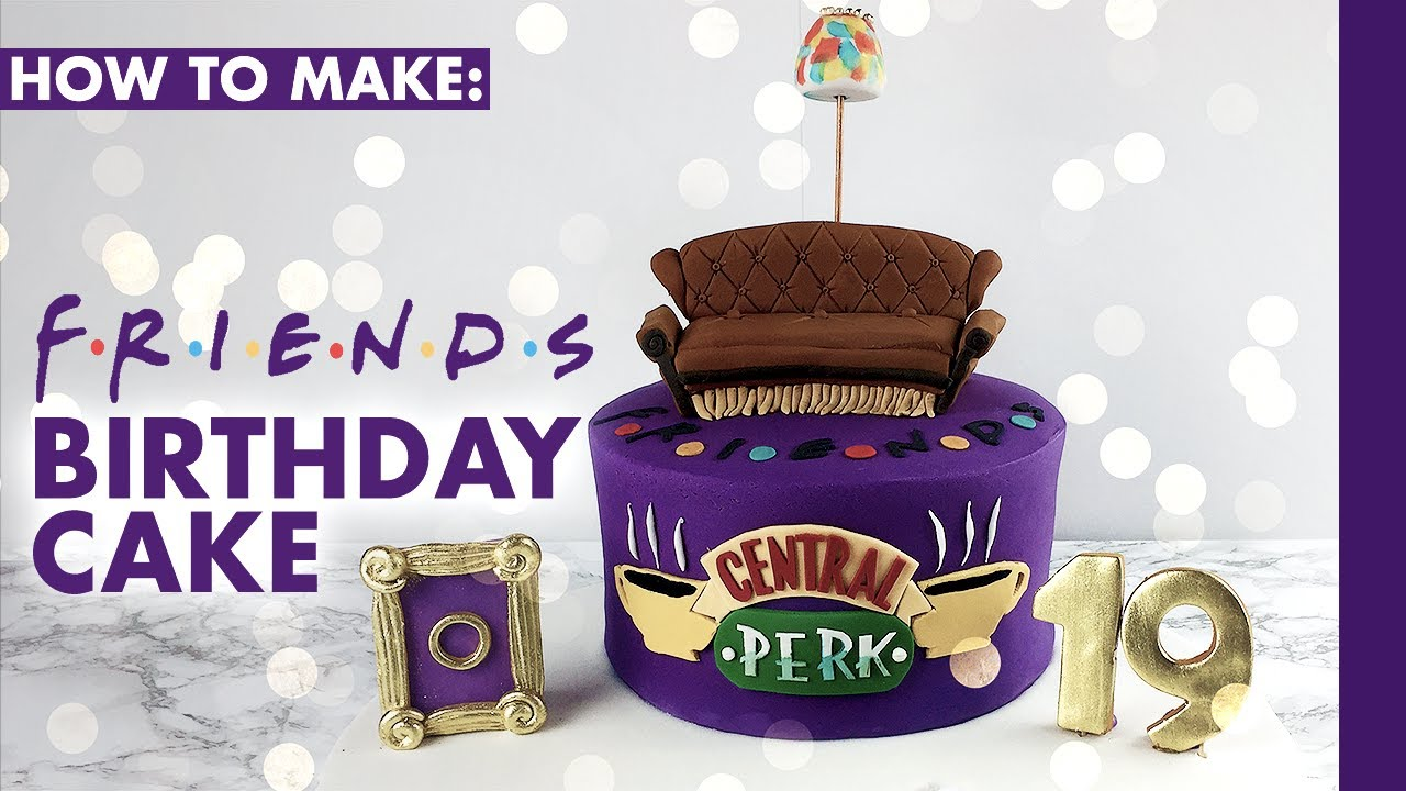 How To Make Friends Tv Show Cake Cakes By Kasib Youtube