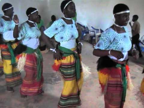 Traditional dance of Buganda tribe, Uganda.MOD