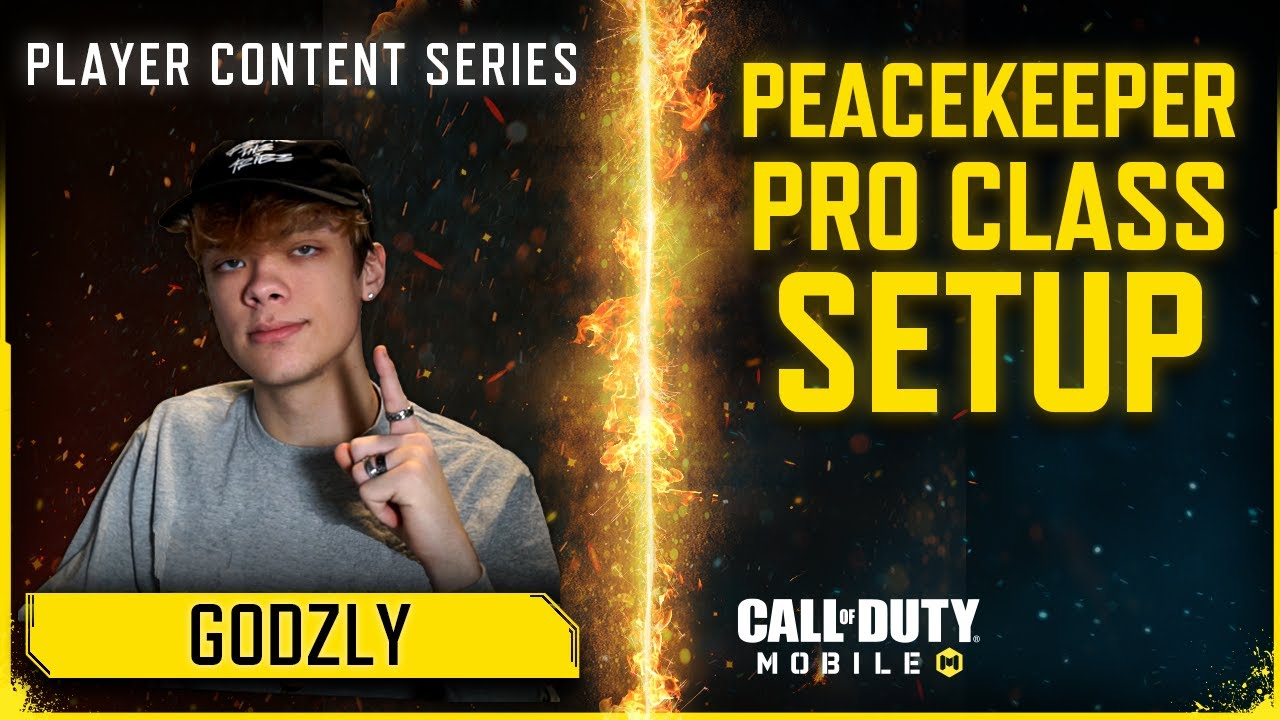 Call of Duty®: Mobile x Godzly I Pro Peacekeeper MK2 Gunsmith Builds