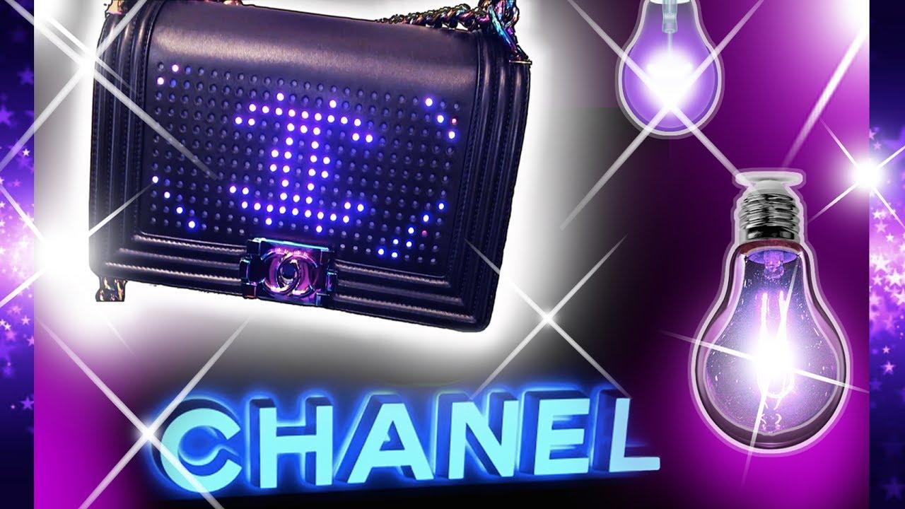 3423efc7ea10 CRAZY £7,500.00 CHANEL LUXURY LED BAG!!! (Limited Edition)..mini Vlog!