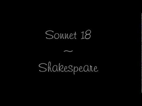 Shakespeare Sonnet 18 - Rap