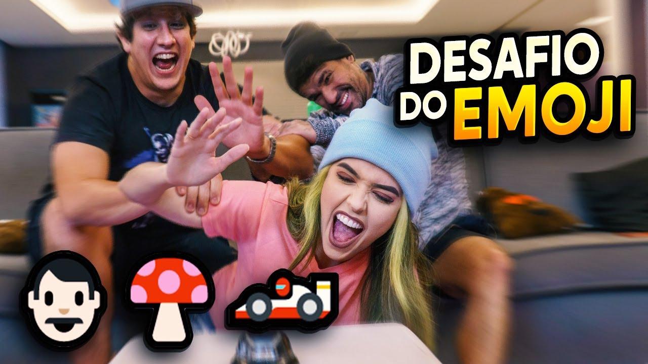 DESAFIO DO EMOJI JOGOS DE VIDEO GAME! QUEM VENCEU?