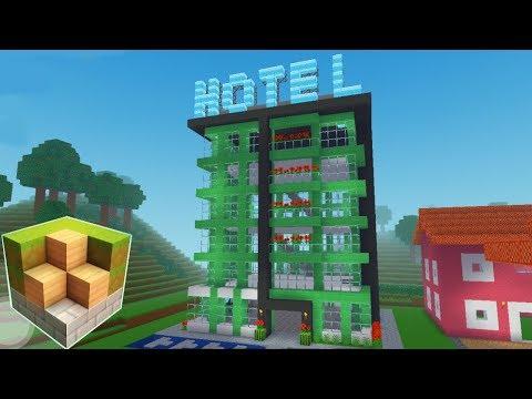 Block Craft 3D Mobile Gameplay  -Hotel-