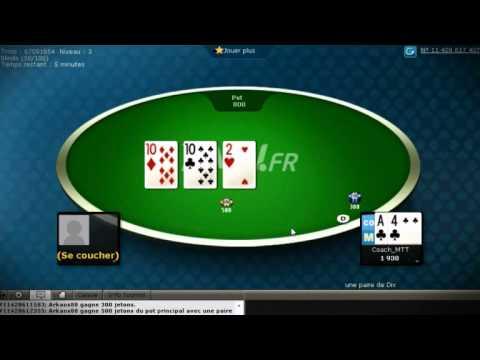 Les bases de la stratégie en Sit N Go Heads Up sur PMU Poker