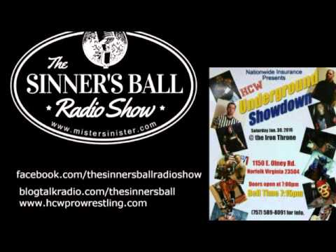 The Sinner's Ball Radio Show - BLACK RUSSIAN'S HAMPTON ROADS CHAMPIONSHIP WRESTLING