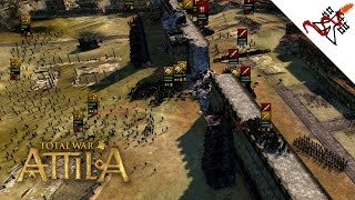 Total War: Attila - The Siege of ROME Gameplay [1080/HD]