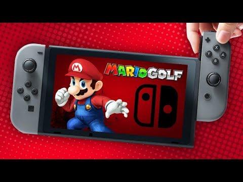 Nintendo switch needs mario golf youtube for Housse nintendo switch mario