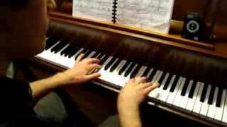 Oliver plays piano - Liebestraum No. 3 by Franz Liszt