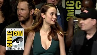 Brie Larson's Captain Marvel Announcement - Marvel Comic-Con 2016 Hall H Panel (HD)