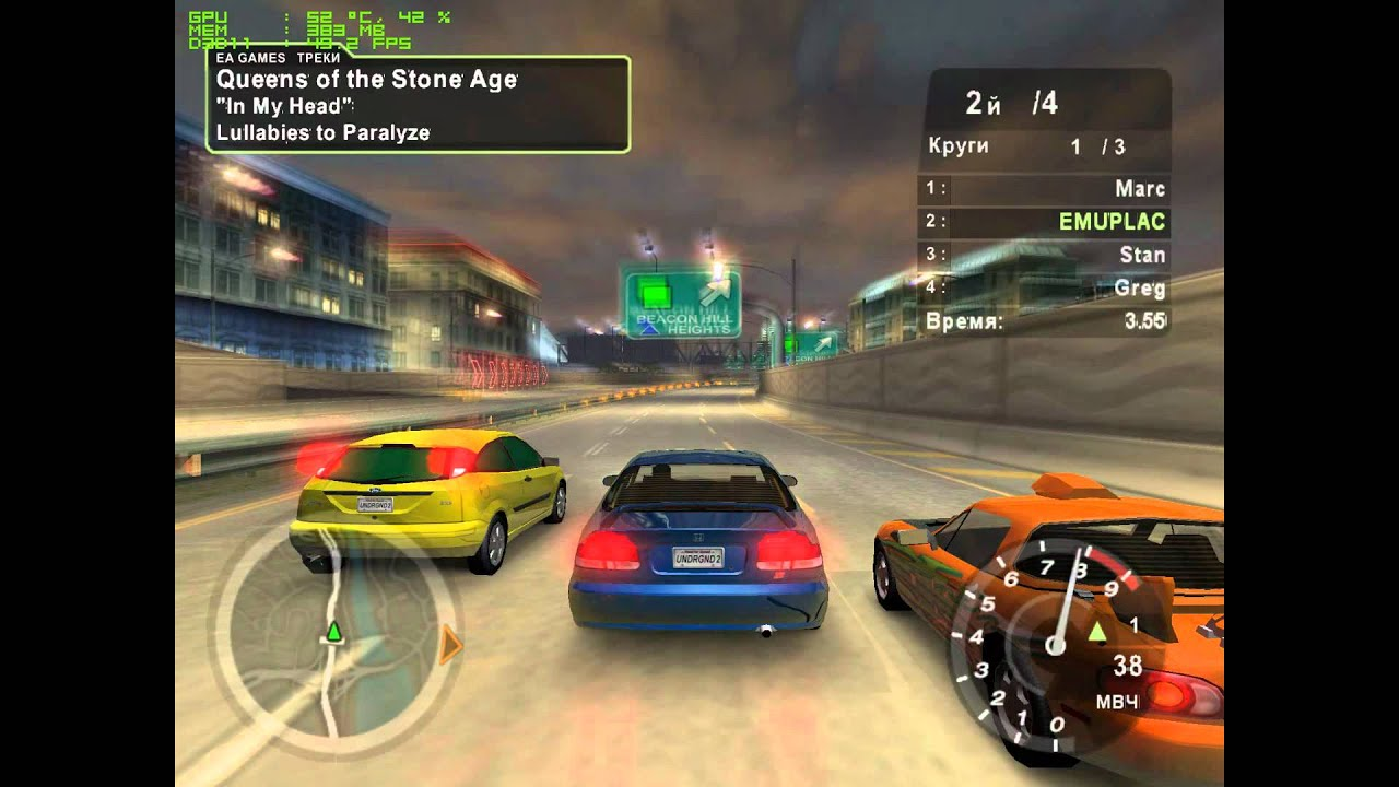 need for speed underground 2 gameplay running on pcsx2. Black Bedroom Furniture Sets. Home Design Ideas