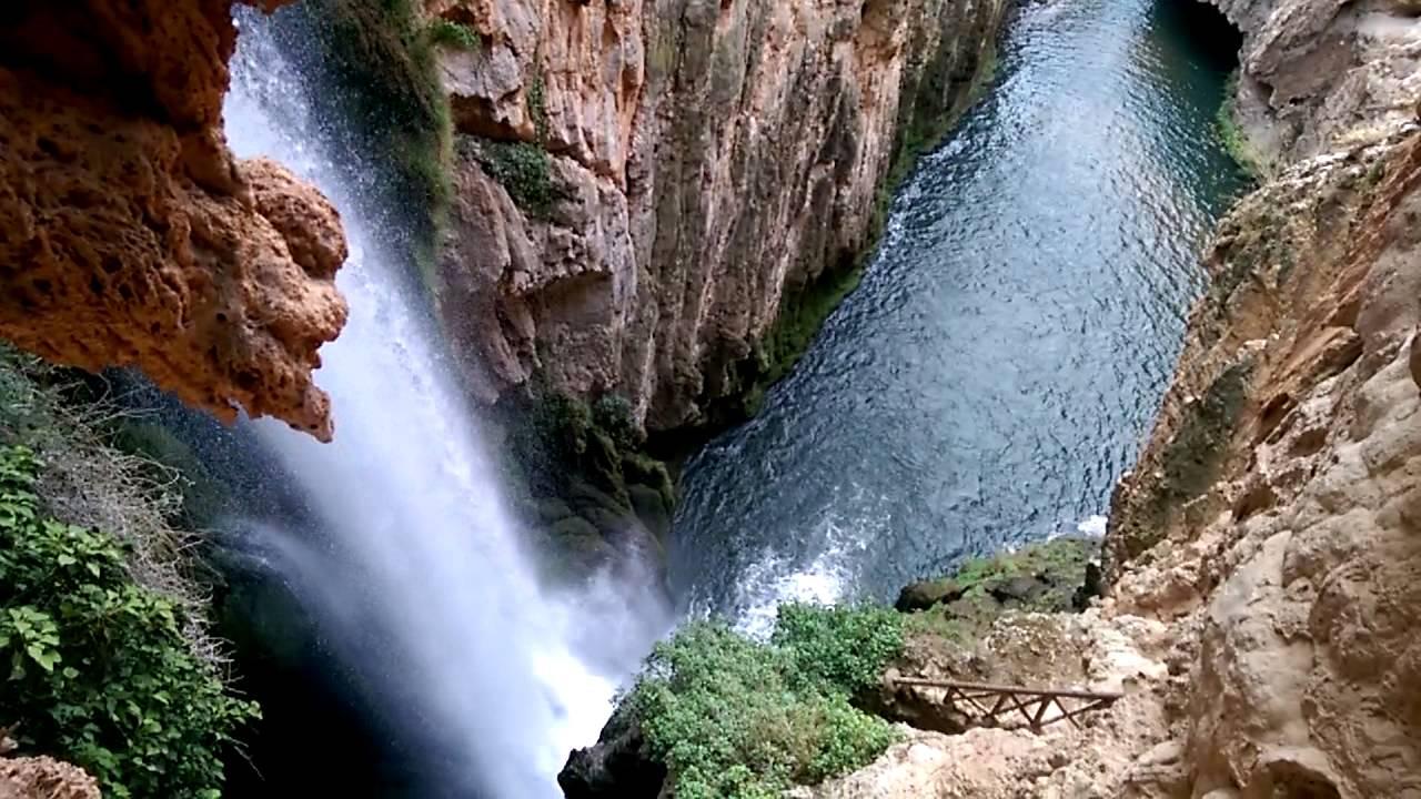 Resultado de imagen de cascada cola de caballo monasterio de piedra