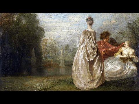 Antoine Watteau - L'art de la fugue / Peindre les femmes en fuite