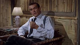 DR. NO   James Bond dispatches Professor Dent