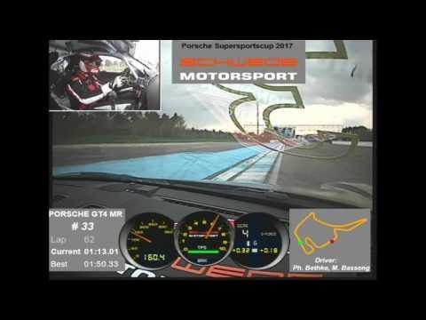 Marc Basseng Porsche Cayman GT4 MR Hockenheim 1:49,74