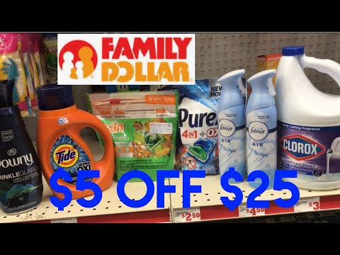 FAMILY DOLLAR 1/27- 2/01 Super Easy Deals!
