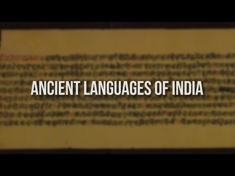Ancient Languages Of India