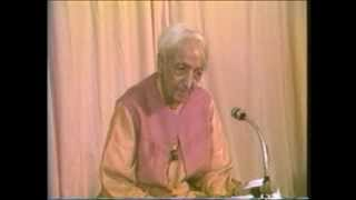 J. Krishnamurti - Rishi Valley 1985 - Discus. with Students 1 - What is the taste of fear?
